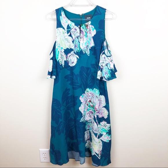 8b8688c08e8c Anthropologie Dresses | Maeve Elia Open Shoulder Dress | Poshmark